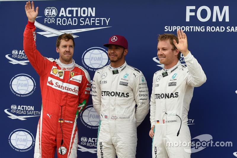 Lewis Hamilton y Michael Schumacher son quienes han obtenido más pole position en la historia del GP, con 6 cada uno.