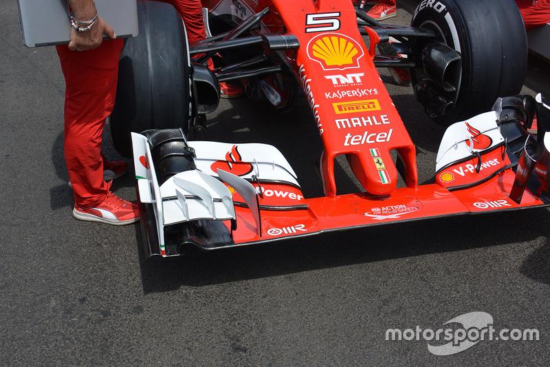 Ferrari: Frontflügel