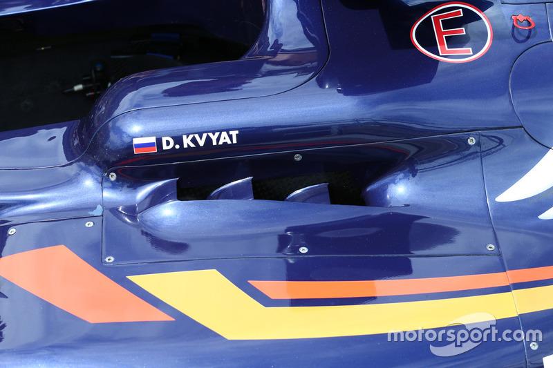 Деталь Scuderia Toro Rosso STR11