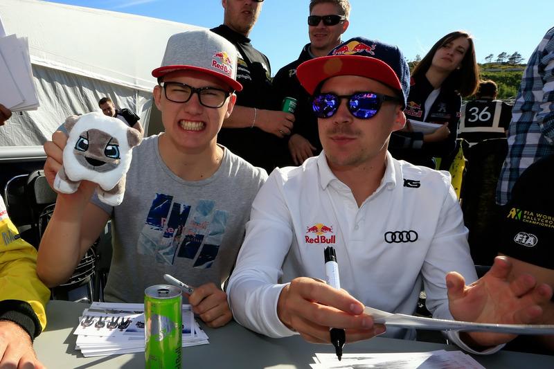 Kevin Hansen, Peugeot Hansen Academy; Toomas Heikkinen, EKS RX