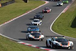 #59 Garage 59, McLaren 650S GT3: Craig Dolby, Martin Plowman
