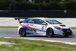 Roberto Colciago, AGS, Honda Civic TCR 2015-TCR #5
