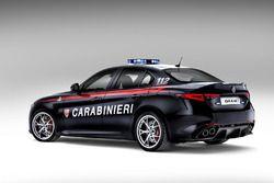 Alfo Romeo Giulia Quadrifoglio Carabinieri