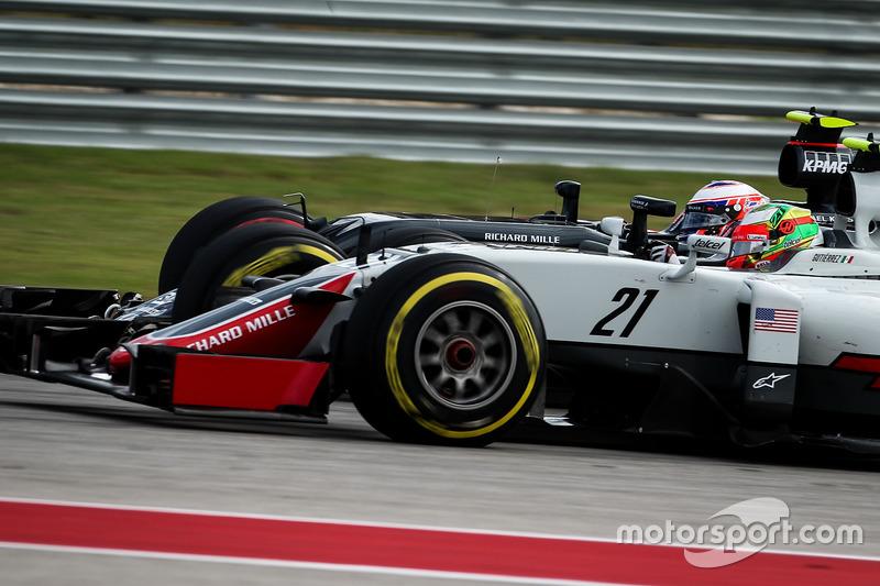 Abandon - Esteban Gutiérrez (Haas)