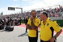 Cyril Abiteboul, Renault Sport F1 et Frederic Vasseur, Renault Sport F1