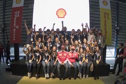Kimi Raikkonen, Ferrari y Marc Gene, Piloto de prueba, Scuderia Ferrari y estudiantes de la UNAM en