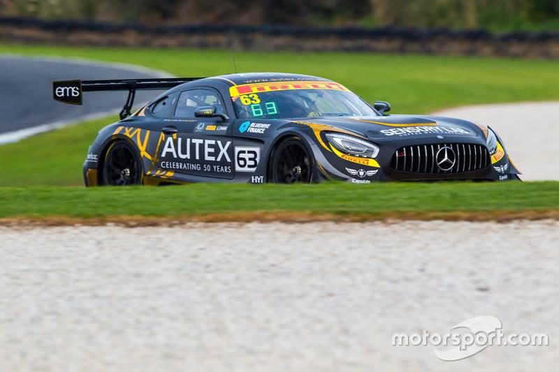 Peter Hackett, Dominic Storey, Mercedes Benz AMG GT3