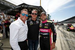 Jack Harvey, Michael Shank Racing met Andretti Autosport Honda, met Mike Shank en zijn vader