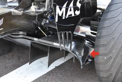 Williams FW40, detail