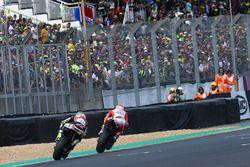 Андреа Довициозо, Ducati Team, и Кэл Кратчлоу, Team LCR Honda