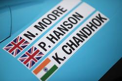 #34 Tockwith Motorsports Ligier JS P217 Gibson: Nigel Moore, Philip Hanson, Karun Chandhok detail