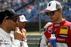 Gary Paffett, Mercedes-AMG Team HWA, Mercedes-AMG C63 DTM, Nico Müller, Audi Sport Team Abt Sportsli