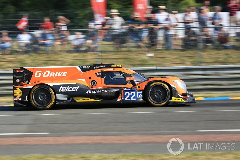 20. №22 G-Drive Racing Oreca 07 Gibson: Мемо Рохас, Лео Руссель, Рио Хиракава