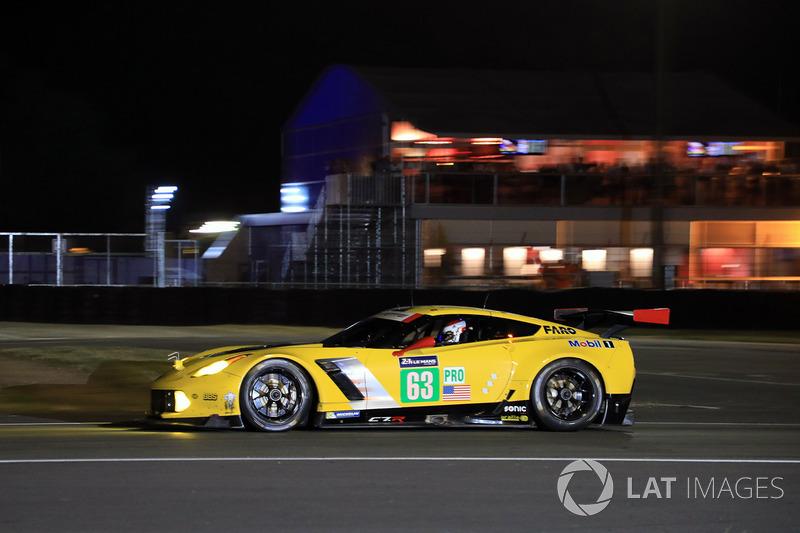 6. GTE-Pro: #63 Corvette Racing, Corvette C7.R
