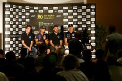 Sebastien Loeb, Team Peugeot-Hansen, Jean Baptiste Dubourg, DA Racing, Johan Kristoffersson, PSRX Volkswagen Sweden
