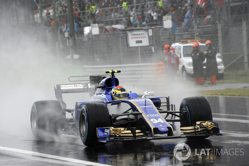 12: Pascal Wehrlein, Sauber C36