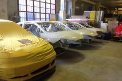 Scocche Seat Ibiza Cup nella factory di Vergiate
