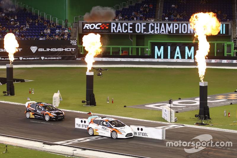 Победитель Кубка наций Себастьян Феттель, RX Supercar Lite