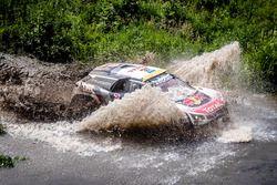 #106 Peugeot Sport Peugeot 3008 DKR: Stéphane Peterhansel, Jean-Paul Cottret