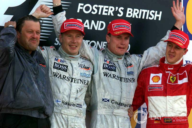2000 David Coulthard, McLaren