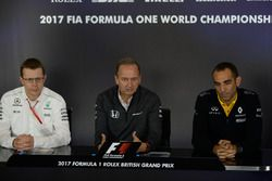 Andy Cowell, Managing Director, Mercedes AMG High Performance Powertrains, Jonathan Neale, McLaren M