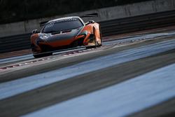 #59 Strakka Racing, McLaren 650 S GT3: Andrew Watson, Côme Ledogar, Dean Stoneman