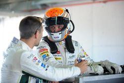 Marco Sorensen and Matthias Lauda, Aston Martin Racing