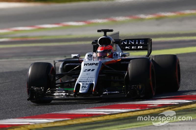 #31 Esteban Ocon, Force India VJM10 (pintura antiga)