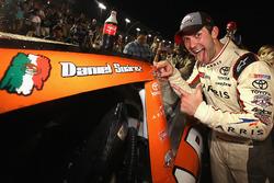 2016 Champion and race winner Daniel Suarez, Joe Gibbs Racing Toyota