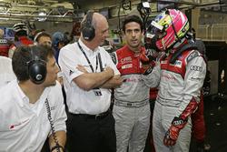 Loic Duval, Dr. Wolfgang Ullrich, Lucas di Grassi, Oliver Jarvis, Audi Sport Team Joest