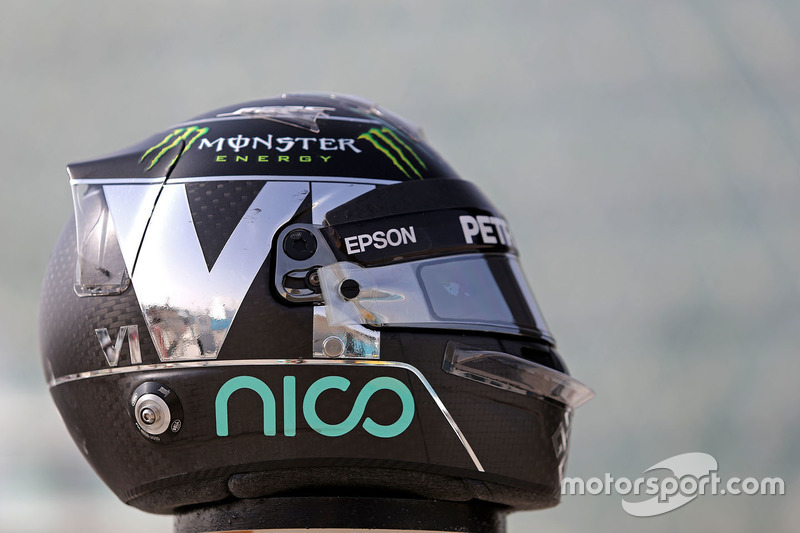 Casco de Nico Rosberg, Mercedes AMG F1