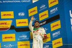 Podyum: 3. Rob Huff, Honda Racing Team JAS, Honda Civic WTCC