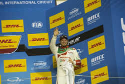 Podium: third place Rob Huff, Honda Racing Team JAS, Honda Civic WTCC