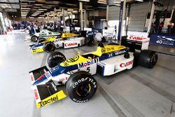 A Williams FW11 Honda, FW10 Honda, other classic machinery