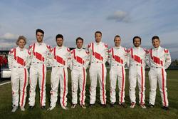 Rahel Frey, Kelvin van der Linde, Pierre Kaffer, Robin Frijns, Frank Stippler, Christopher Haase, Markus Winkelhock, Christopher Mies