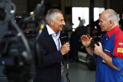 Riccardo Patrese, et Peter Windsor