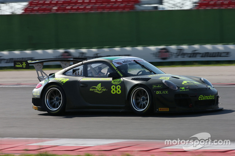 Porsche 997 GT3 R #88: Venerosi-Baccani, Ebimotors