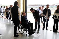 Sir Frank Williams, Sohn Jonathan, Pastor Maldonado