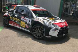 Andrea Crugnola, Moira Lucca, Citroen DS3 WRC, Lugano Racing Team