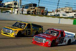 Cody Coughlin, ThorSport Racing Toyota, Austin Wayne Self, AM Racing Toyota