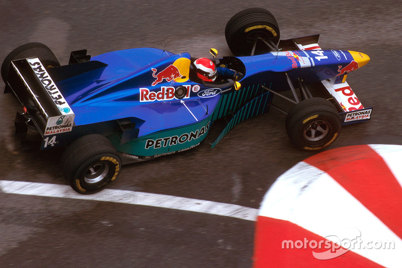 1996: Johnny Herbert, Sauber C15 Ford