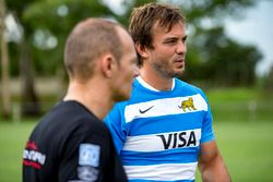 Stéphane Sarrazin, Venturi mit Juan Martín Hernández, Rugby-Spieler