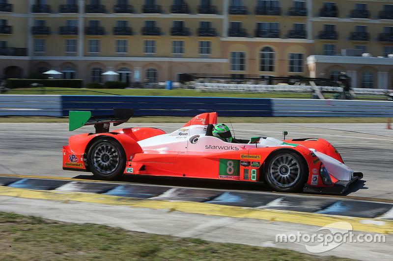 2. PC: #8 Starworks Motorsports, ORECA FLM09