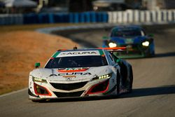 №93 Michael Shank Racing Acura NSX: Энди Лэлли, Кэтрин Легг, Марк Уилкинс
