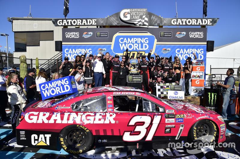 1. Ryan Newman, Richard Childress Racing, Chevrolet