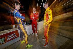Alexander Rossi, Herta - Andretti Autosport Honda, Marco Andretti, Andretti Autosport Honda, Ryan Hu