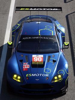 #90 TF Sport, Aston Martin V8 Vantage: Salih Yoluc, Euan Hankey, Nicki Thiim, Rob Bell