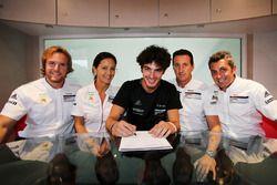Alessio Rovera, Tsunami RT, Il pilota selezinato per l'International Shoot Out della Carrera Cup