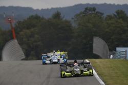 Charlie Kimball, Chip Ganassi Racing Honda, Tony Kanaan, Chip Ganassi Racing Honda