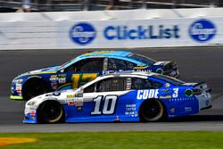Danica Patrick, Stewart-Haas Racing Ford and Ricky Stenhouse Jr., Roush Fenway Racing Ford